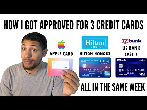I Got Approved For 3 Credit Cards 💳 In The Same Week!!! (No Major Credit Impact)
