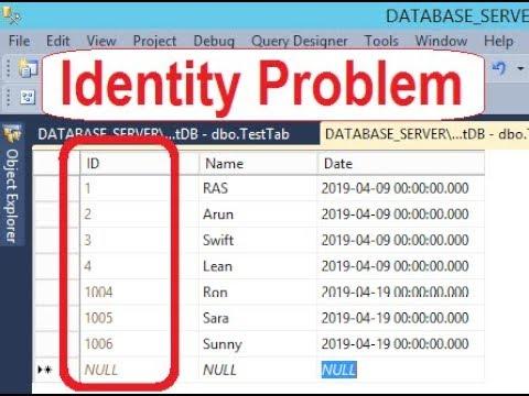 Server identity sql