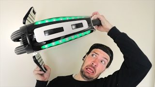 WEIRD NEW HOVERBOARD SPINNER?!!