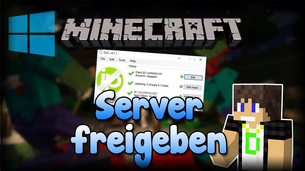 Minecraft Server Im Internet Freigeben DIREKT Ohne Hamachi - Minecraft server erstellen uber internet