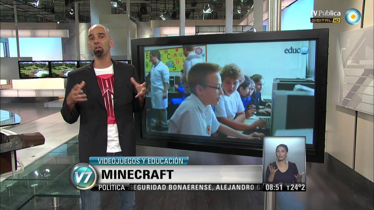 """Minecraft 110 Videojuegos: Visión 7: Videojuegos Y Educación: """"Minecraft"""""""