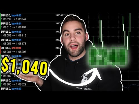 Forex Bot Day Trading for A Week (Complete Newbie) | Case Study