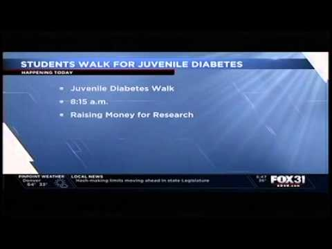 Foundations Academy Hosts Walk for Juvenile Diabetes
