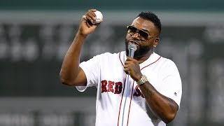 David Ortiz Returns to Fenway Park & Throws Out First Pitch