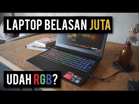 Quick Review Gigabyte Sabre 15! (GTX 1050 Ti) - RGB Paling Irit?