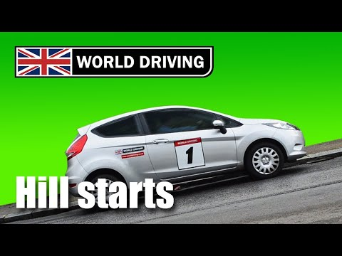 How to do hill starts easily in a manual stick shift car learning to drive tips