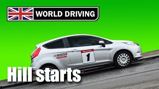 How to do Hill Starts in a manual/stick shift car