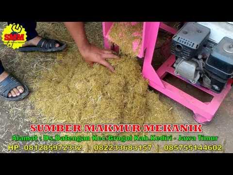 Mesisn Cacah Rumput Jerami Bonggol Jagung Pakan Ternak Fermentasi Gedebok Batang Pisang Multifungsi