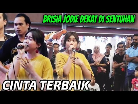 Cinta Terbaik||Amazing Sentuhan Kedatangan artis cantik Indonesia Brisia Jodie Indonesian Idol 2018