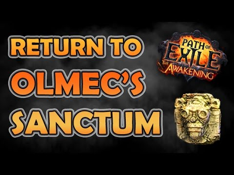Path of Exile: Return to OLMEC'S SANCTUM (Unique Map Highlight - Hardcore)