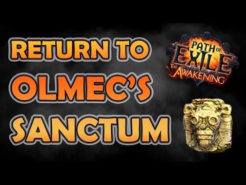 Path of Exile: Return to OLMEC'S SANCTUM (Unique Map Highlight - Hardcore)