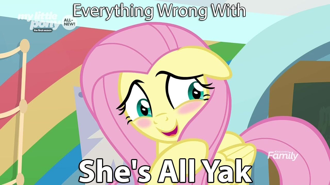"""Everything Wrong With My Little Pony Season 9 """"Shes All Yak"""""""