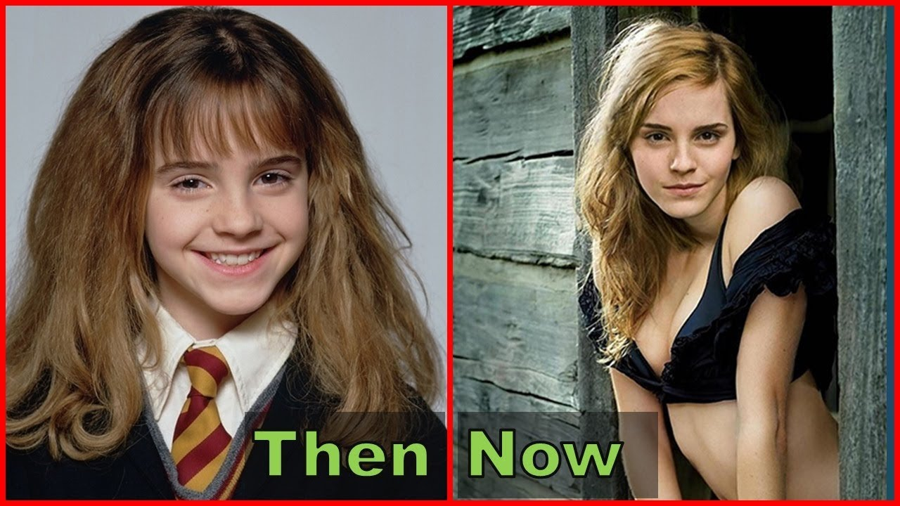 Harry Potter Then And Now 2018 Before And After 2018 Harry Potter Antes Y Despues 2018 Youtube