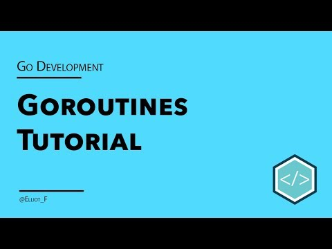 Concurrency With Golang Goroutines | TutorialEdge net