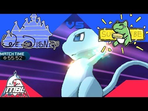 Pokemon Wi-Fi Battle - Multi Battle League 2 - Team We Disney vs Team Subs!