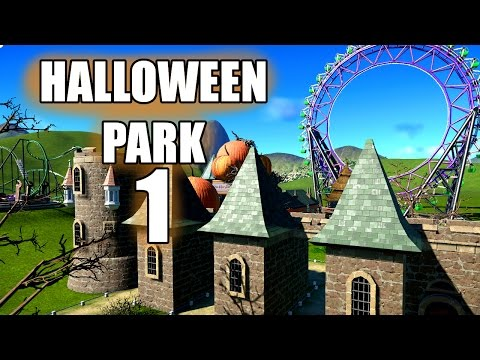 Planet Coaster | Halloween Park (Part 1) |