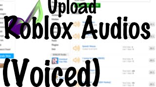 How to make a Roblox Audio [Roblox Tutorial]