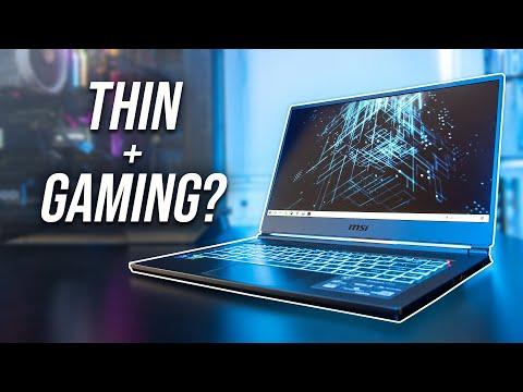 MSI's Thinnest Gaming