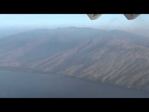 Flight with Island Air to Maui - Spectaculare landing! #maui #hawaii #landing #flight