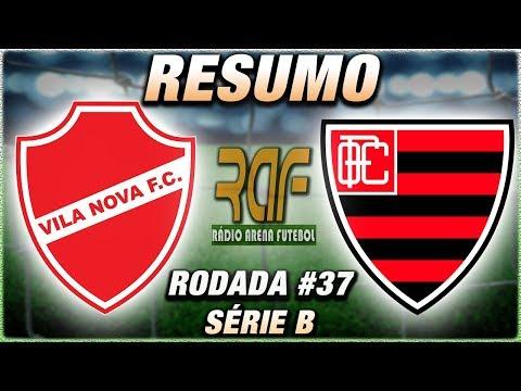 Vila Nova x OesteFC Ao Vivo l Campeonato Brasileiro Série B l 37ª Rodada