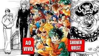 Shonen Quest - One Piece 873, Boku no Hero Academia 146, Hunter x Hunter 365
