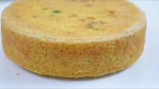कुकर में बनायें एग्ग्लेस सुजी का केक आसान तरीके से || Suji Cake Recipe || Rawa Cake Recipe in Hindi
