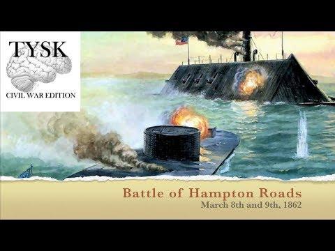 1862-10 Battle Of Hampton Roads