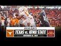 No. 19 Texas Vs. Iowa State Highlights (2019) | Stadium