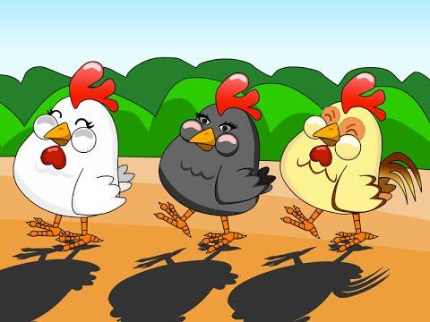 Quand trois poules vont aux champs