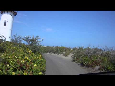 Cape Cod Off-Road Over-Sand Race Point Drive with Info