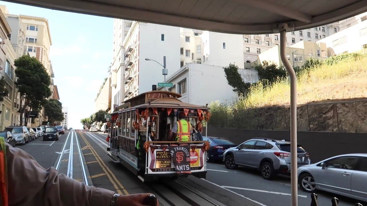 San Francisco Cable Cars Are BACK - Lombard Street / Fishermans Wharf / Pier 39 / Boudin & Much MORE