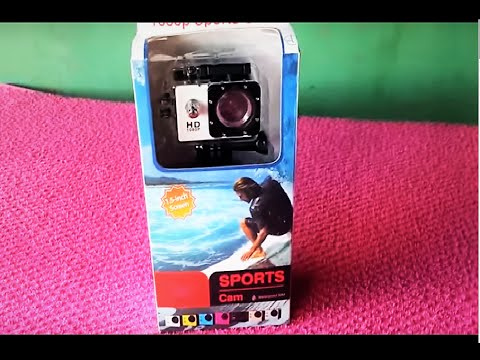 camera sports cam full hd 1080p youtube. Black Bedroom Furniture Sets. Home Design Ideas