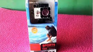 Camera Sports Cam Full HD 1080p