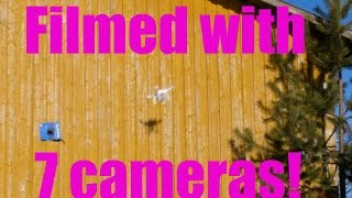 Phantom Drone into a Wall With Full Speed, Will it Survive?