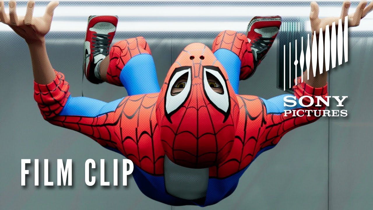Spider Man Into The Spider Verse Clip Fight Or Flight Youtube