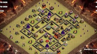 20170516 Clash Of Clans LageLanden TH10 QW GoLaLoon 3 Star Attack Strategy andre