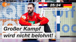 Kroatien - Deutschland 25:24 - Highlights | Handball-EM 2020 - ZDF
