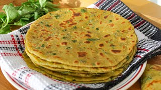 Avocado Flat Bread Recipe (Vegan) | Plant-based Flat Bread Recipe | How to make Avocado Roti