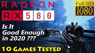 RX 580 8GB | Is It Good Enough in 2020 PC Gaming??? | Latest Driver Adrenalin 2020 Edition 20.1.1