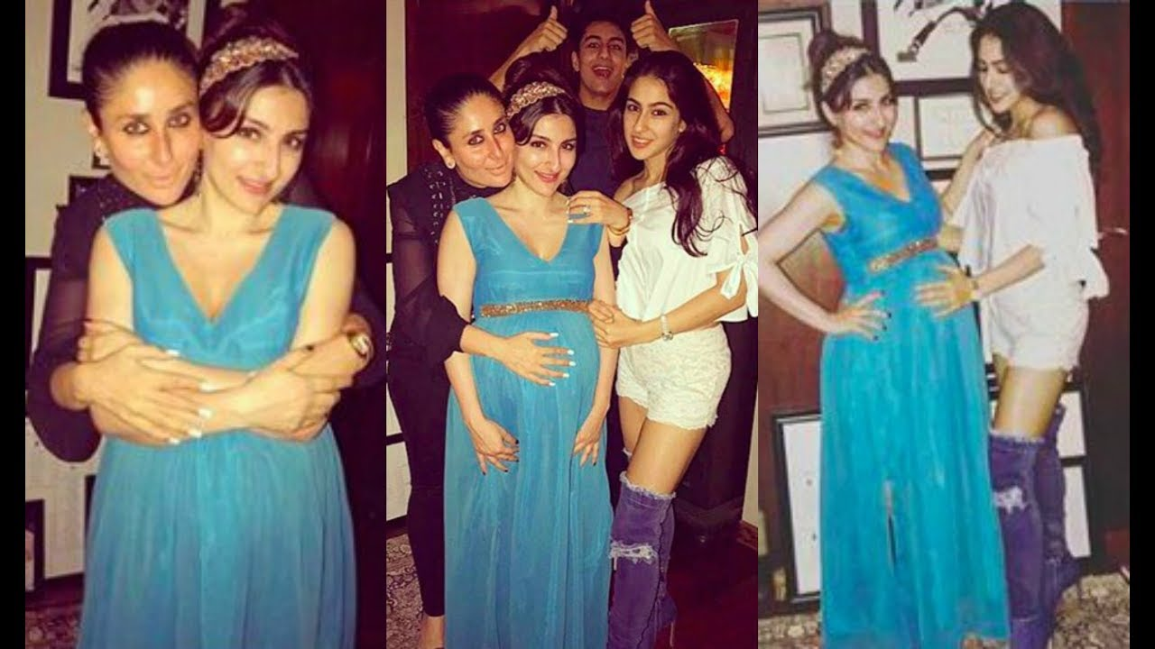 Kareena Kapoor Having Fun With Soha Ali Khan, Sara Ali Khan, Ibrahim ...