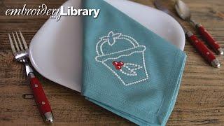 Machine Embroidery & Candlewicking