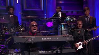 Stevie Wonder & The Roots - All Day Sucker (Live)