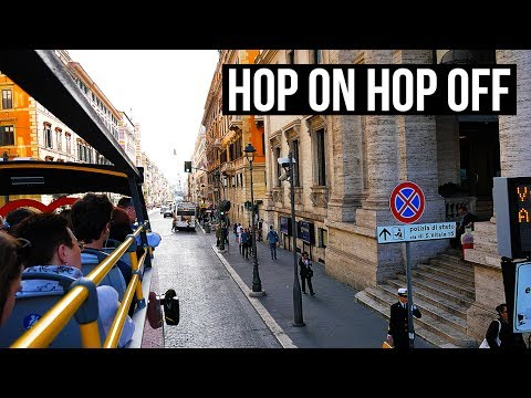 When In ROME 🇮🇹 | Hop On Hop Off Bus | VLOG DAY 3 [4K]