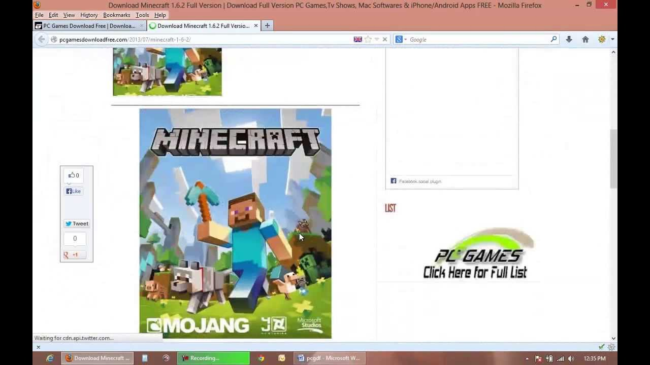 How to download minecraft for free on pc/mac full version with.