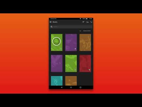 Amazon Fire Tablet: Syncing & The Cloud