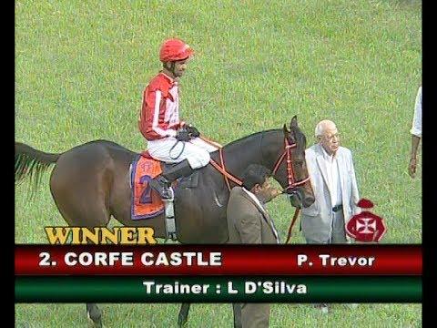 Corfe Castle with P Trevor up wins The K Mahipathi Rao Memorial Golconda Juvenile Million Gr 3 2018