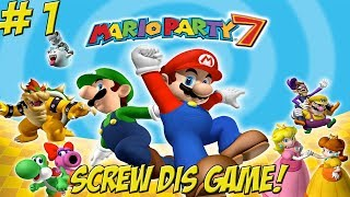 Mario Party 7! Whoever Wins, We Lose! Part 1 - YoVideogames