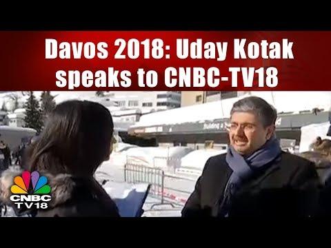 Davos 2018: Uday Kotak speaks to CNBC-TV18