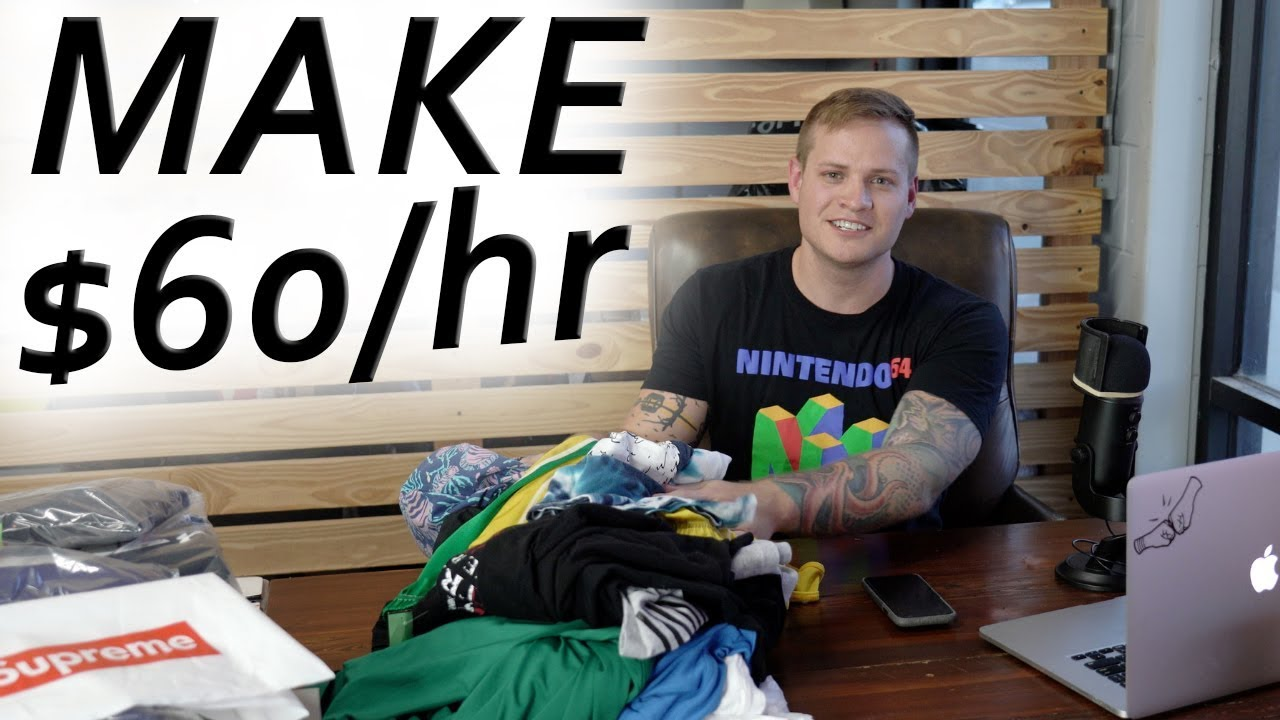 How To Make Money! $60 An Hour At The Thrift Store!?