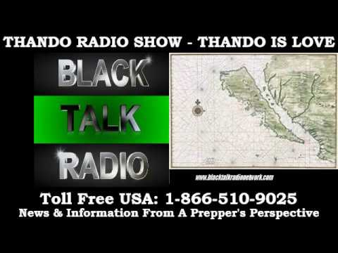 Thando Radio - The Chinese & Queen Califia Historical Connection....